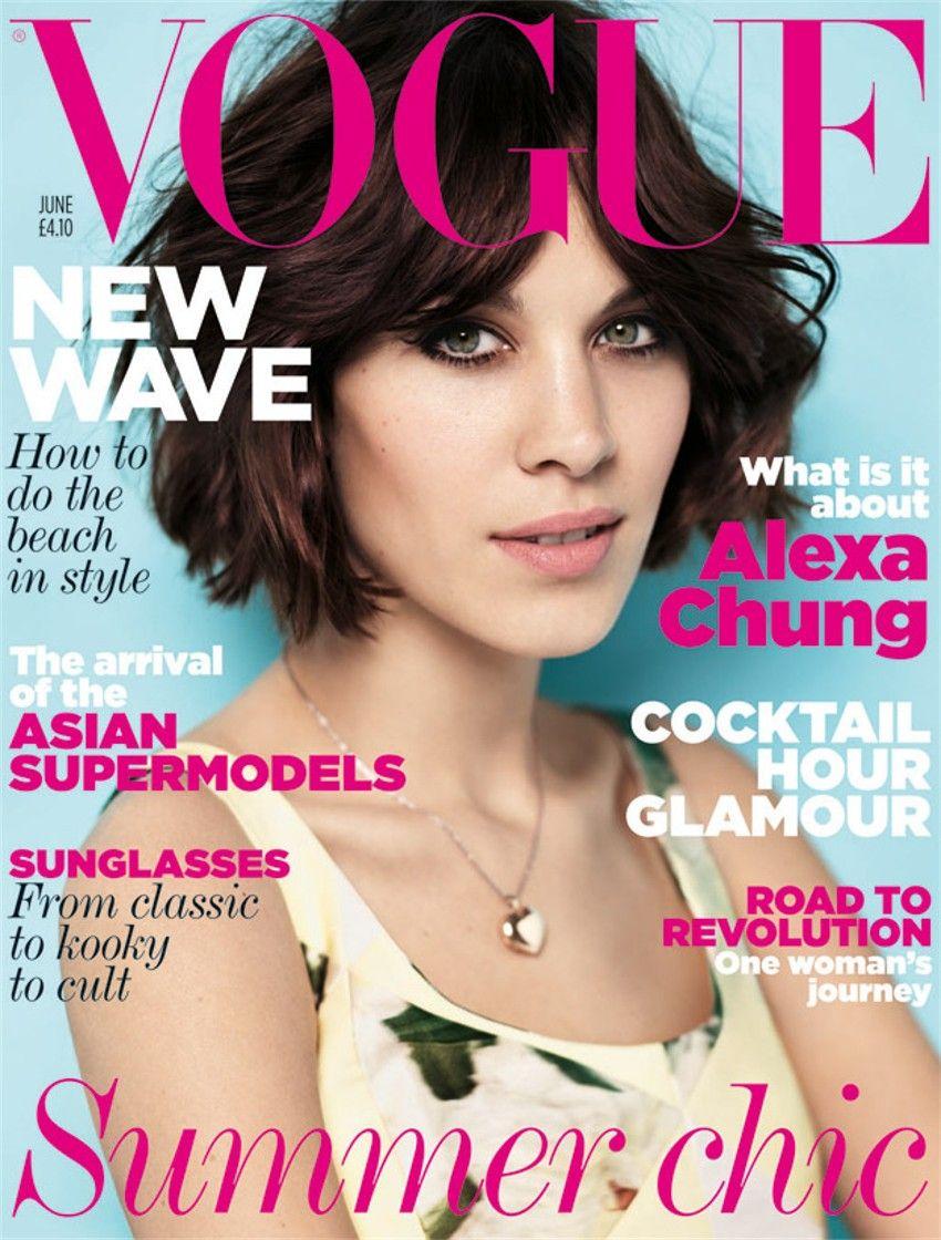 ... a atriz Cameron Dias e a linda da Olivia Palermo estampam as capas das revistas do Reino Unido. Já a top model Naomi Campell é destaque na Vogue Japão. - alexa-chung1